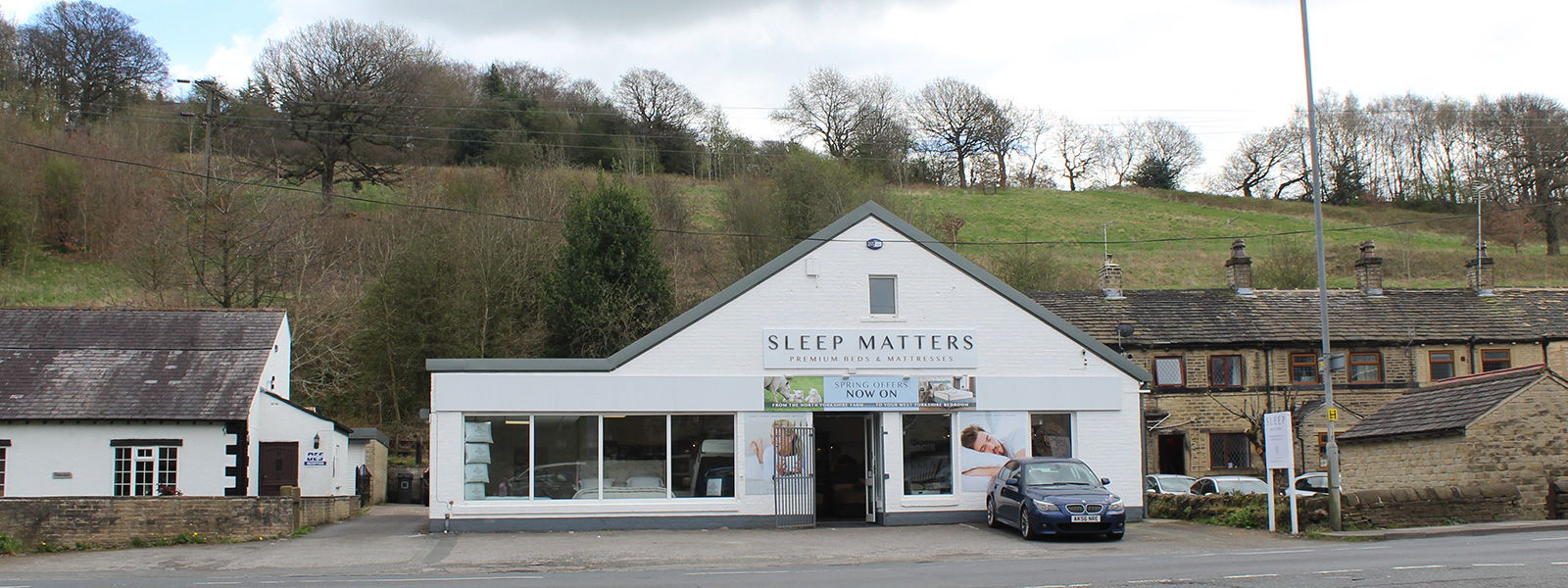 Visit our beautiful Honley showroom located a short distance from Huddersfield, West yorkshire