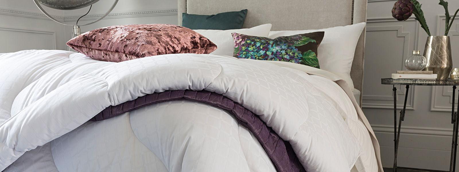 Smartfil fibres used in bedding