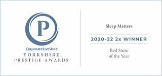Yorkshire Prestige Awards - 2x Award Winner 2020-2022 - Bed Store Of The Year
